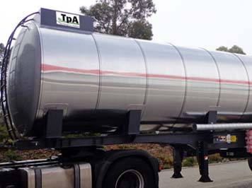 Cisternas transporte